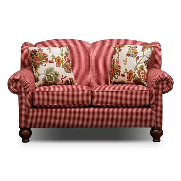 Country Red Gingham Sofa - Year of Clean Water