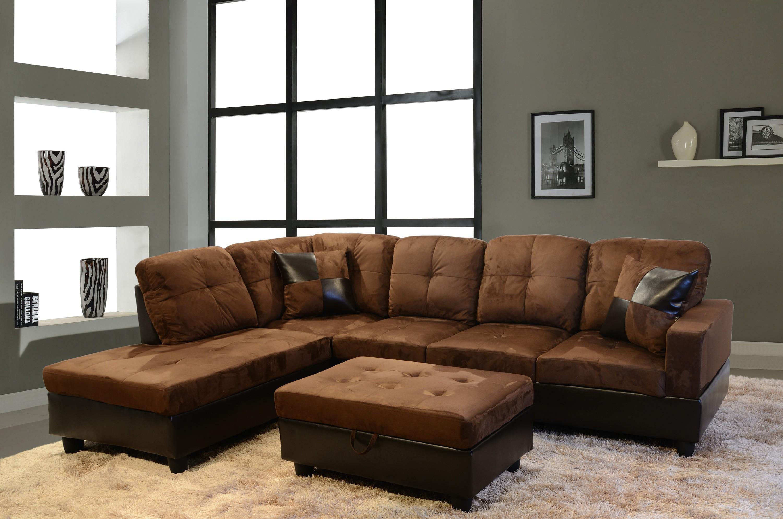 2018 Latest Brown Velvet Sofas  Sofa Ideas