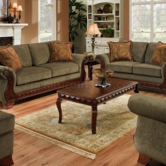 Fabric Sofa Sets With Wood Trim Plastic Covers For Sofas And Chairs 20 Photos Traditional Ideas