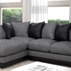 Large Dark Grey Corner Sofa Fabric Online Australia 20 43 Choices Of Black Sofas Ideas