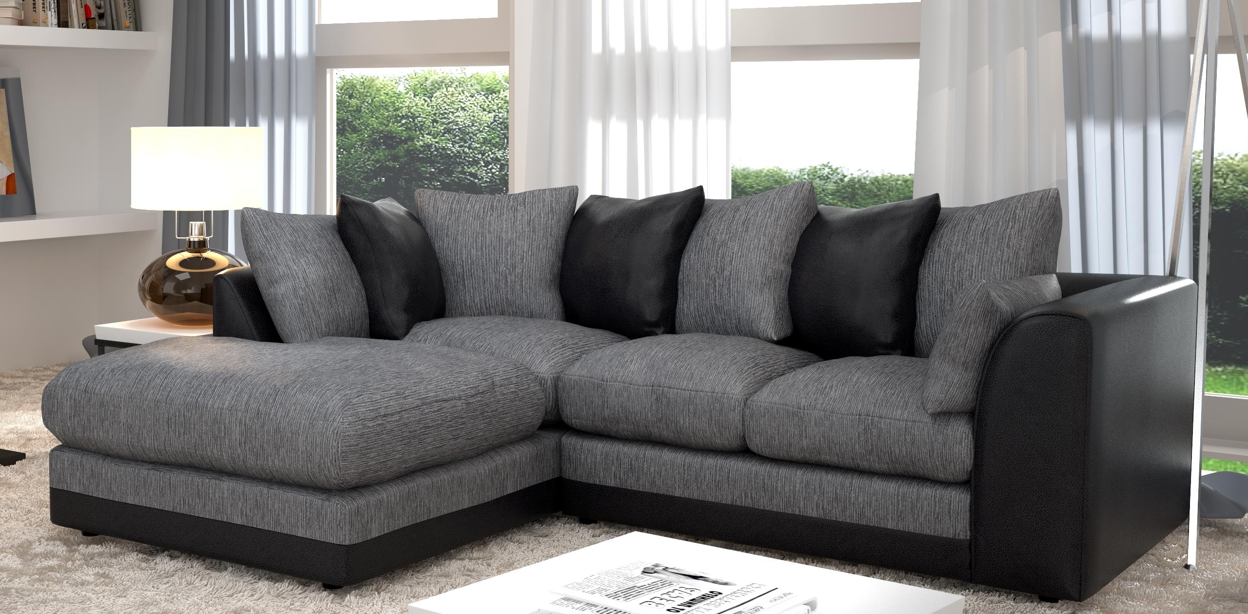 grey fabric corner sofa bed leather power headrest 20 43 choices of black sofas ideas