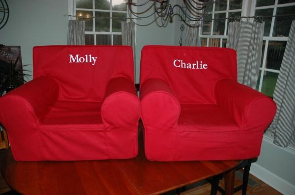 Pottery Barn Anywhere Chair