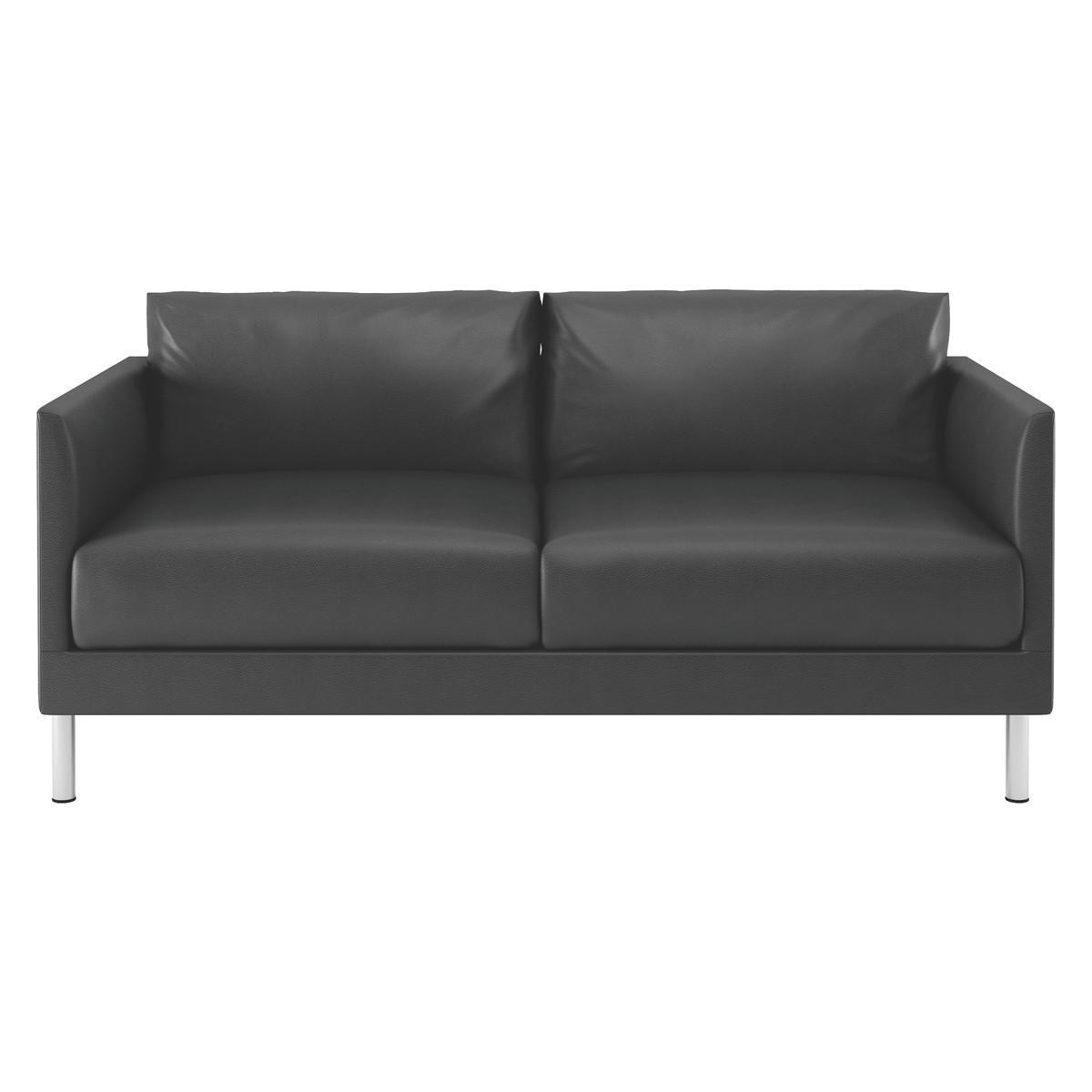 20 Best Ideas Black 2 Seater Sofas Sofa Ideas