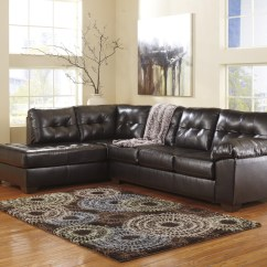 Faux Leather Sectional Sofa Ashley Table And Mirror Set 20 Collection Of Sofas