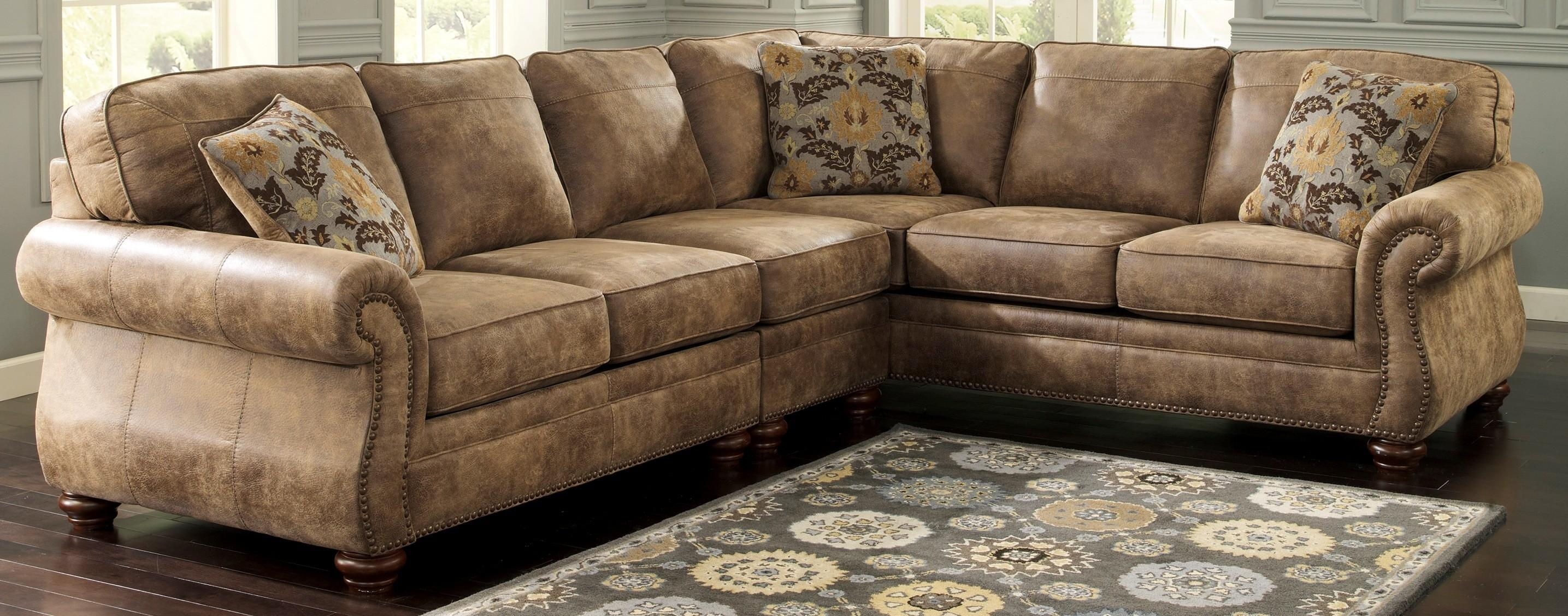 faux leather sectional sofa ashley how to make a camelback slipcover 20 collection of sofas ideas and within