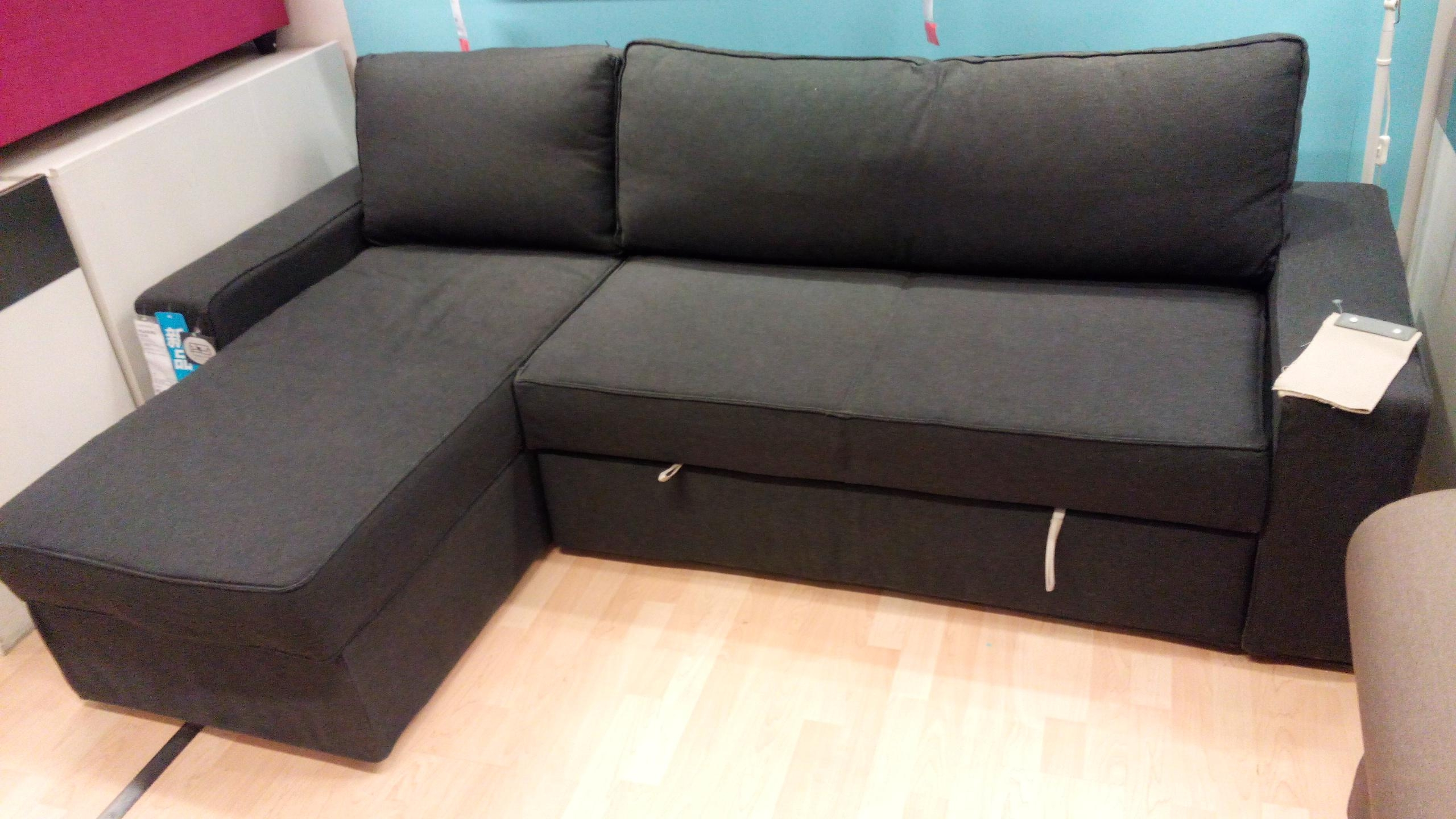 manstad sofa bed 299 sectional 20 top with storage from ikea ideas
