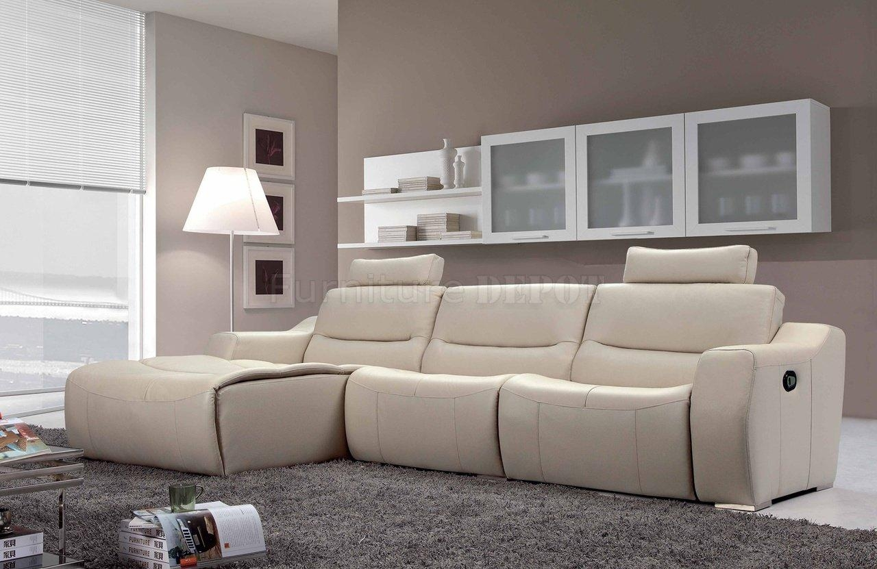 contemporary reclining sofa leather psychic usa 20 ideas of modern sofas