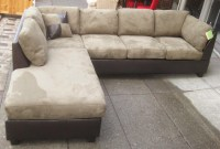 leather suede sectional sofa - Home The Honoroak
