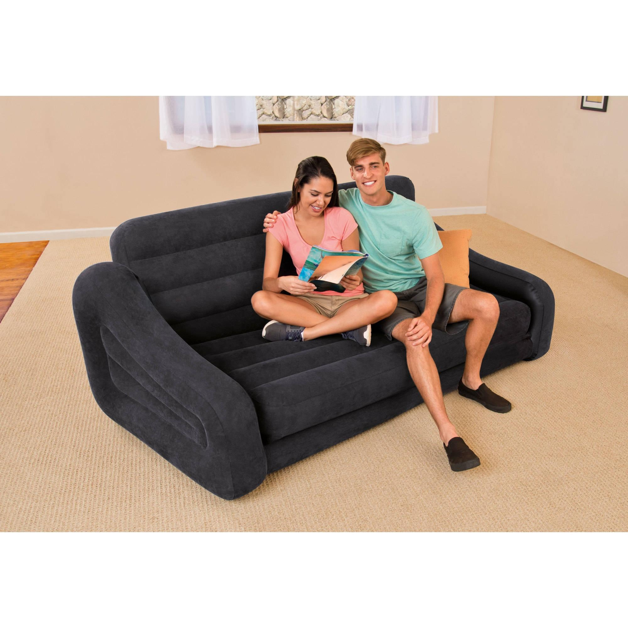 air mattress pull out sofa beds society modern leather sectional with chair 20 43 choices of intex ideas