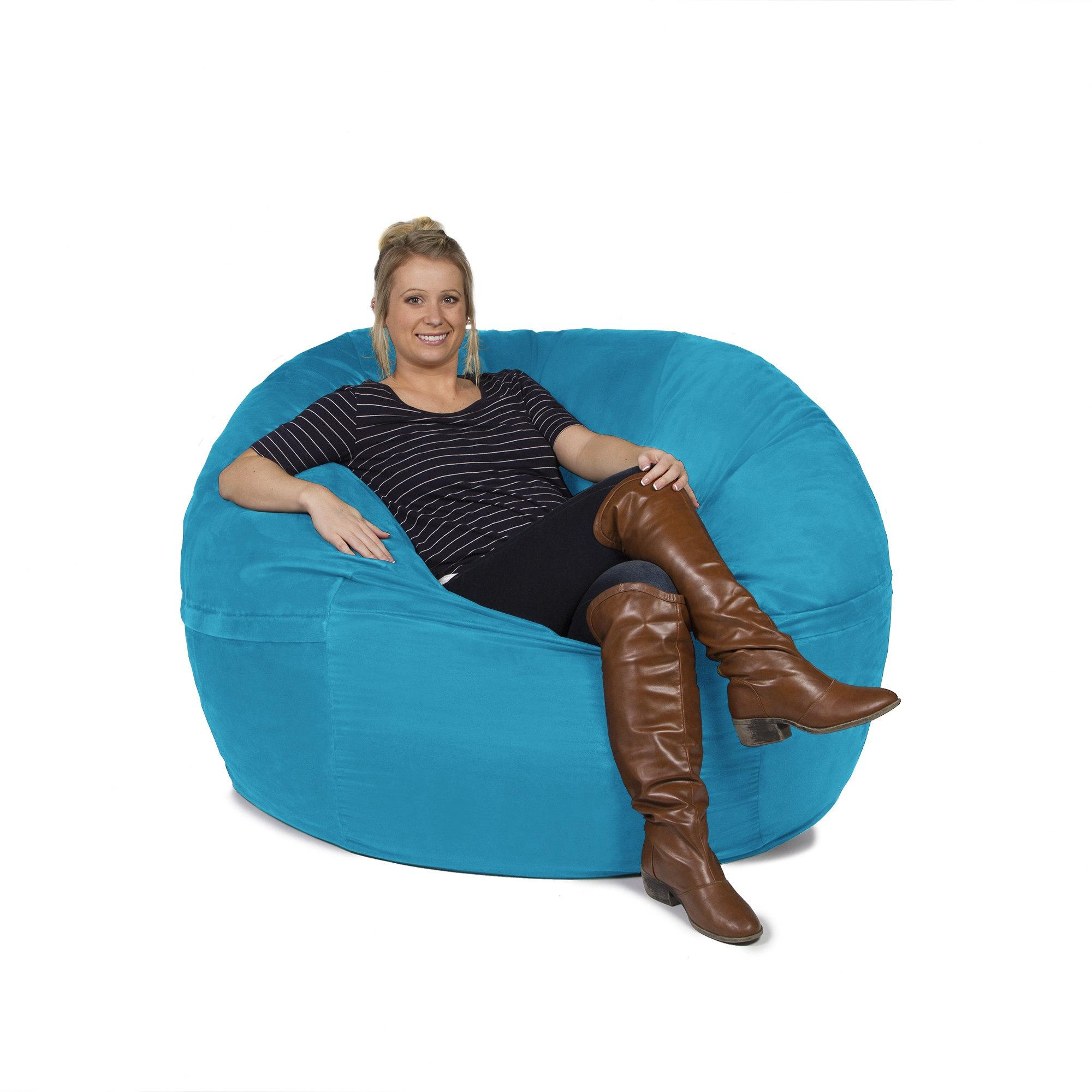 Oversized Bean Bags Chairs 20 Best Collection Of Giant Bean Bag Chairs Sofa Ideas
