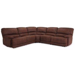 Reclining Sectional Sofa Fabric Hay Mags Modular Luxury Jedd 6 Pc Power