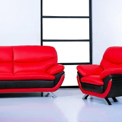 Black And Red Sectional Sofa Baker Sofas With