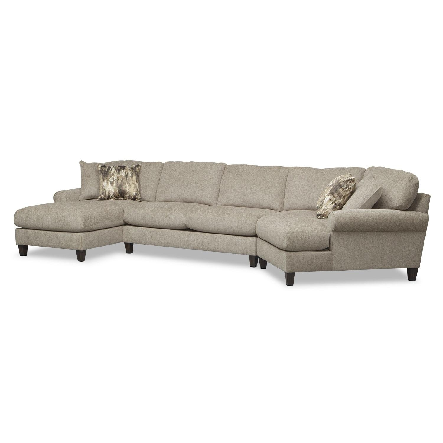 right arm facing sofa left chaise microfiber and faux leather sectional 20 best ideas with cuddler |