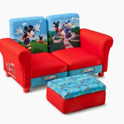 Children S Fold Out Sofa Chair How To Reupholster A Leather 20 Collection Of Mickey Couches Ideas