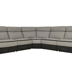Caruso Leather 5 Piece Power Motion Sectional Sofa 2 Seat Recliner Covers 20 Top Ideas