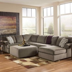 Large Sectional Sofa With Ottoman Reclining Leather Brown 20 Top Ideas