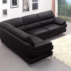 Black Leather Corner Sofa Recliner Port Royal Prestige Small Rattan Set 20 43 Choices Of Sofas Ideas