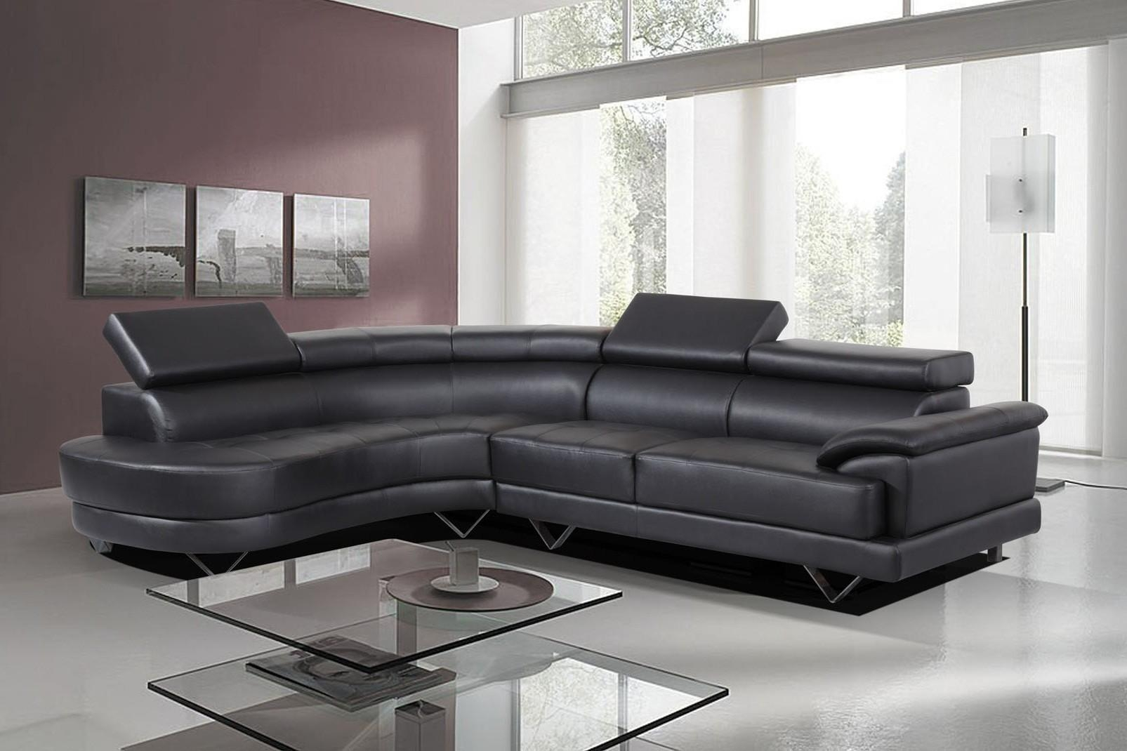 second hand leather sofa for sale left arm right chaise 20 43 choices of black corner sofas ideas