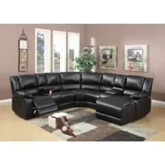 Caruso Leather 5 Piece Power Motion Sectional Sofa Family Room Ideas 20 Top