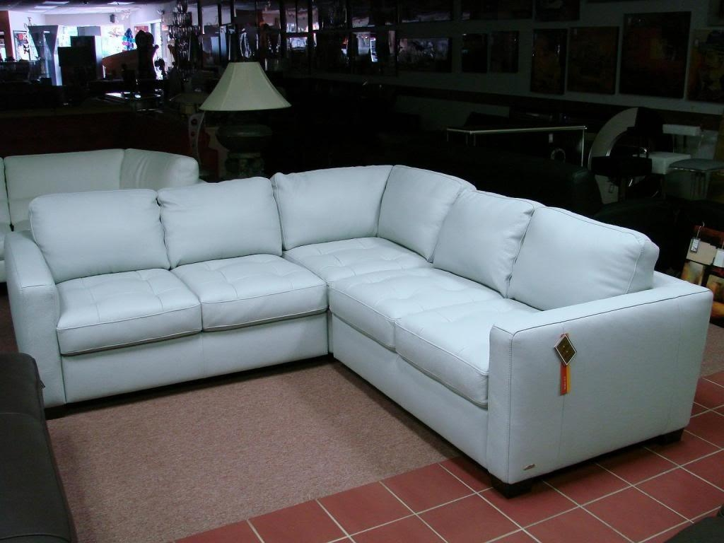 20 Collection of Blue Leather Sectional Sofas  Sofa Ideas
