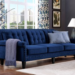 Navy Blue Velvet Sofa Canada Usaga A Vendre Gatineau 2018 Latest Tufted Sofas Ideas