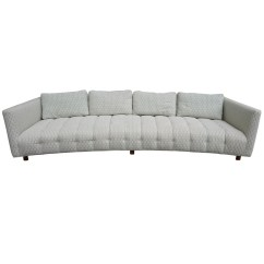 Modern Low Back Sofas Curved Tufted Nailhead Sofa 20 Ideas Of Long