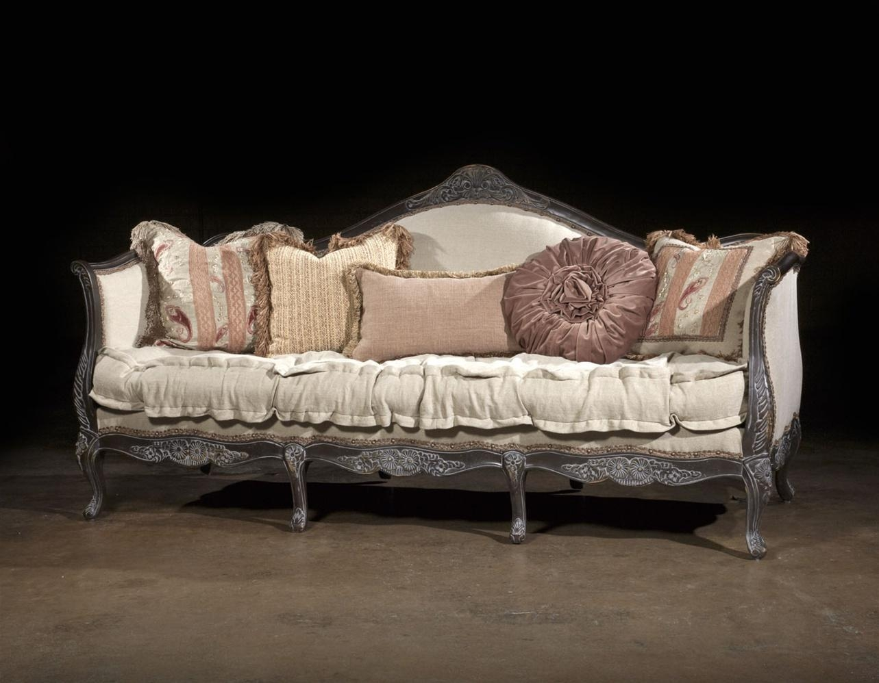 French Style Sofas Ashley Benton Sofa Together With Wicker