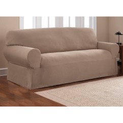Large Sofa Pillows Pottery Barn Sectional Slipcover 20 Best Collection Of T Cushion Slipcovers For Sofas