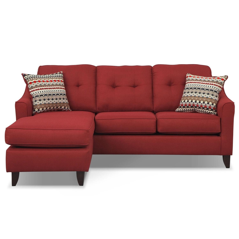 marco gray chaise sofa luna bobs furniture home decor photos gallery 20 best ideas sofas
