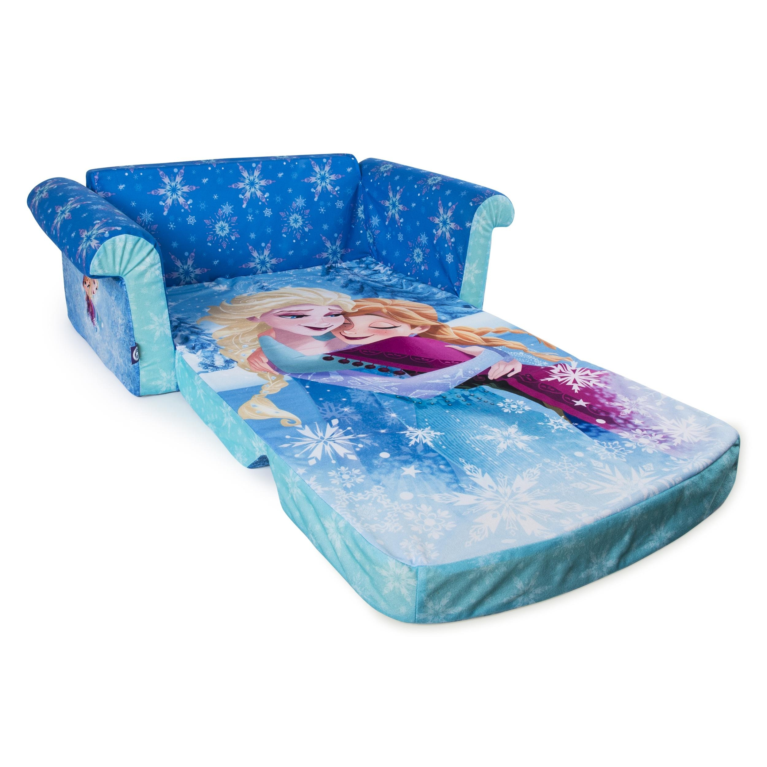 fun furniture flip open sofa disney princess pink with cushions 20 top sofas ideas