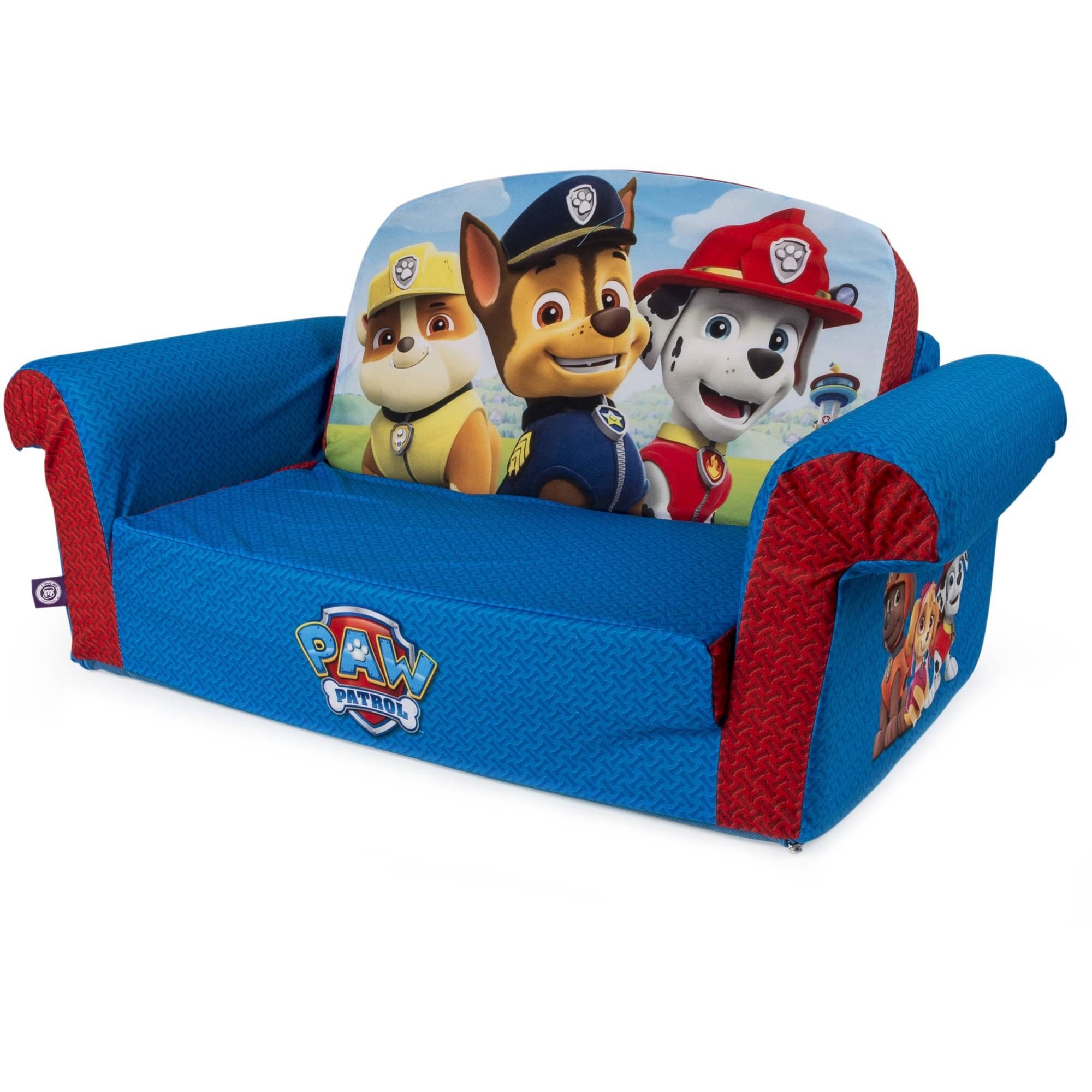 sesame street flip open sofa with slumber bag leather sectional sofas austin 20 43 choices of couches ideas