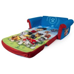 Sesame Street Flip Open Sofa With Slumber Bag Small Under Tables 2018 Latest Out Bed Toddlers Ideas
