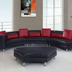 Black And Red Leather Sofa Mid Century Modern Sectional 20 Top Sets Ideas