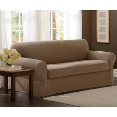 Luxe 2 Seat Sofa Slipcover Courts Bed Singapore 20 Ideas Of Canvas Slipcovers