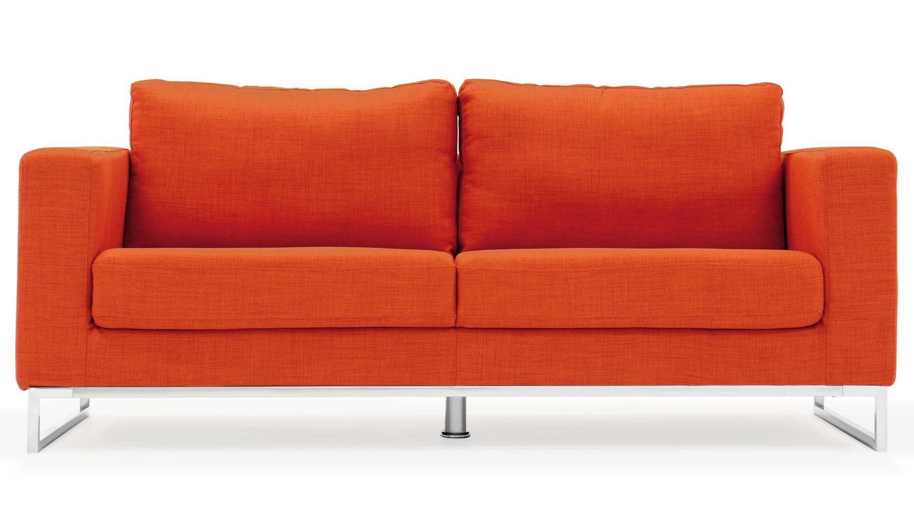 modern fabric sofa set rattan effect mini corner 20 best orange sofas ideas