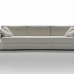 Sofa 4 Seater Grey Leather Sleeper Four Seat Todd Thesofa