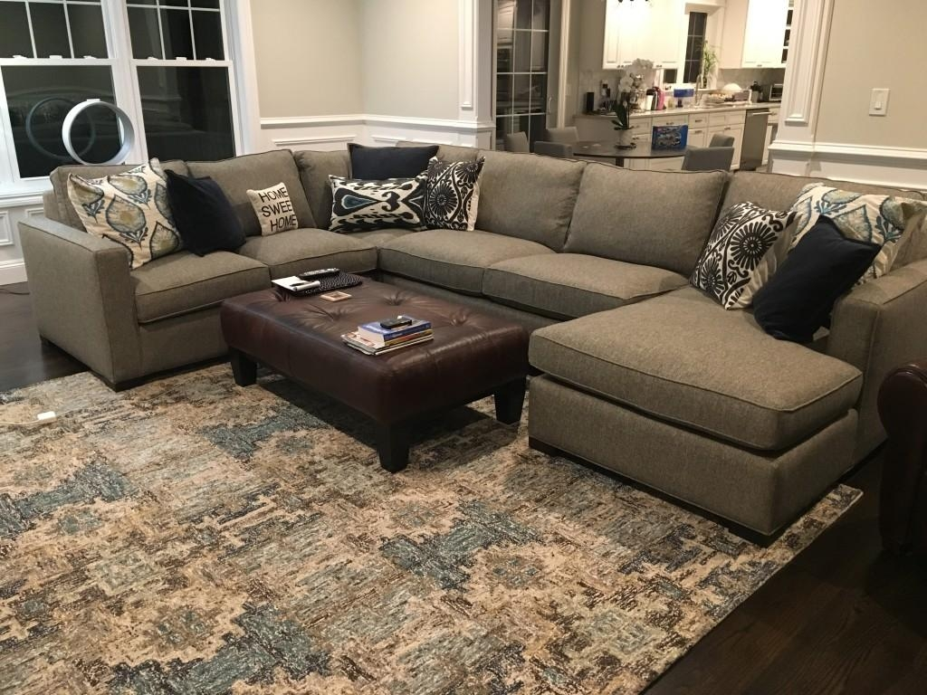 room and board sectional sofa leather pillows for modern brokeasshome