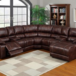 Caruso Leather 5 Piece Power Motion Sectional Sofa And Chairs Lafayette La 20 Top Ideas