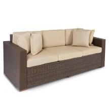 3 Seater Wicker Sofa Outdoor Patio Furniture