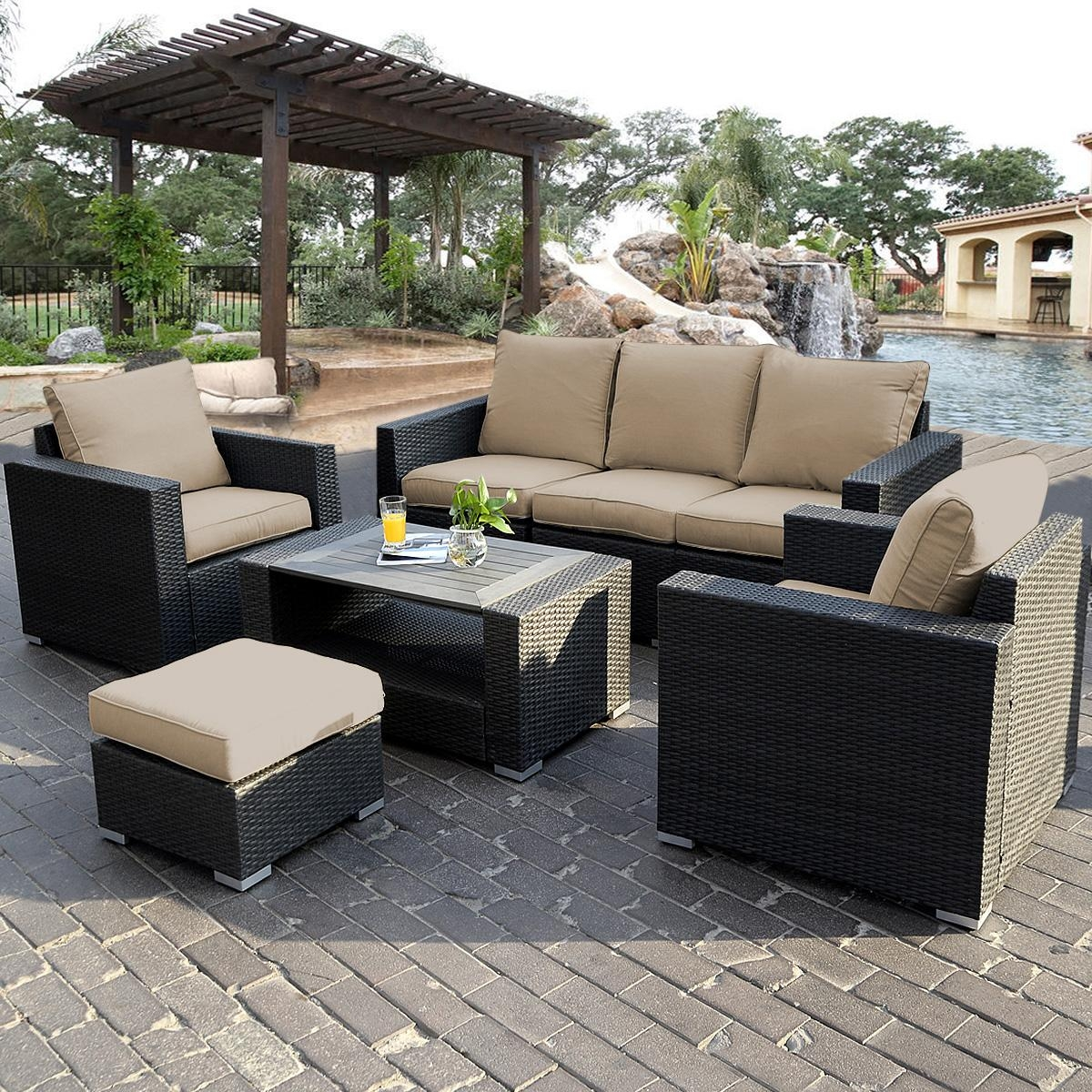 15 Choices of Cheap Outdoor Sectionals  Sofa Ideas