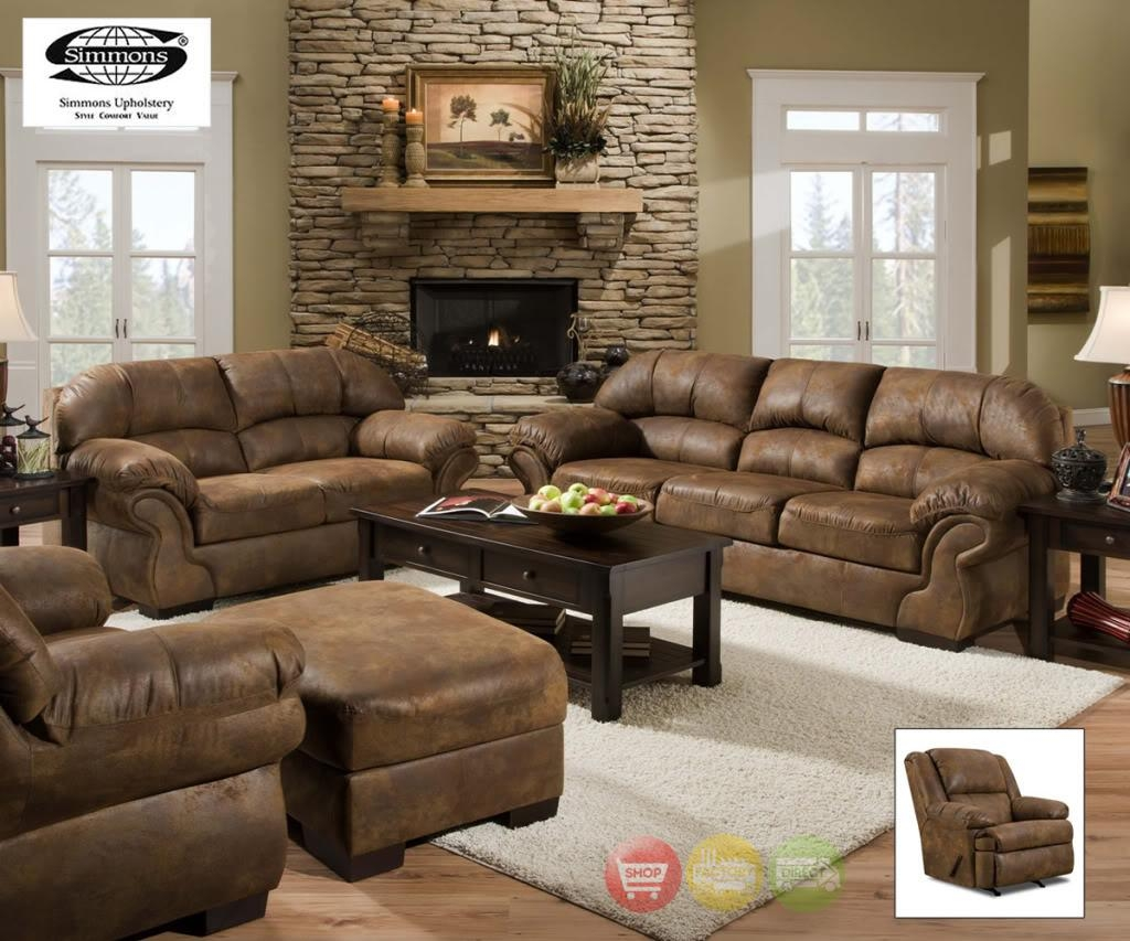 simmons blackjack cocoa reclining sofa and loveseat cheap dog beds uk 20 collection of sofas loveseats ideas