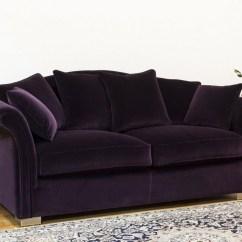 Purple Velvet Sleeper Sofa Metal Frame Double Futon Bed 20 Inspirations Sofas Ideas