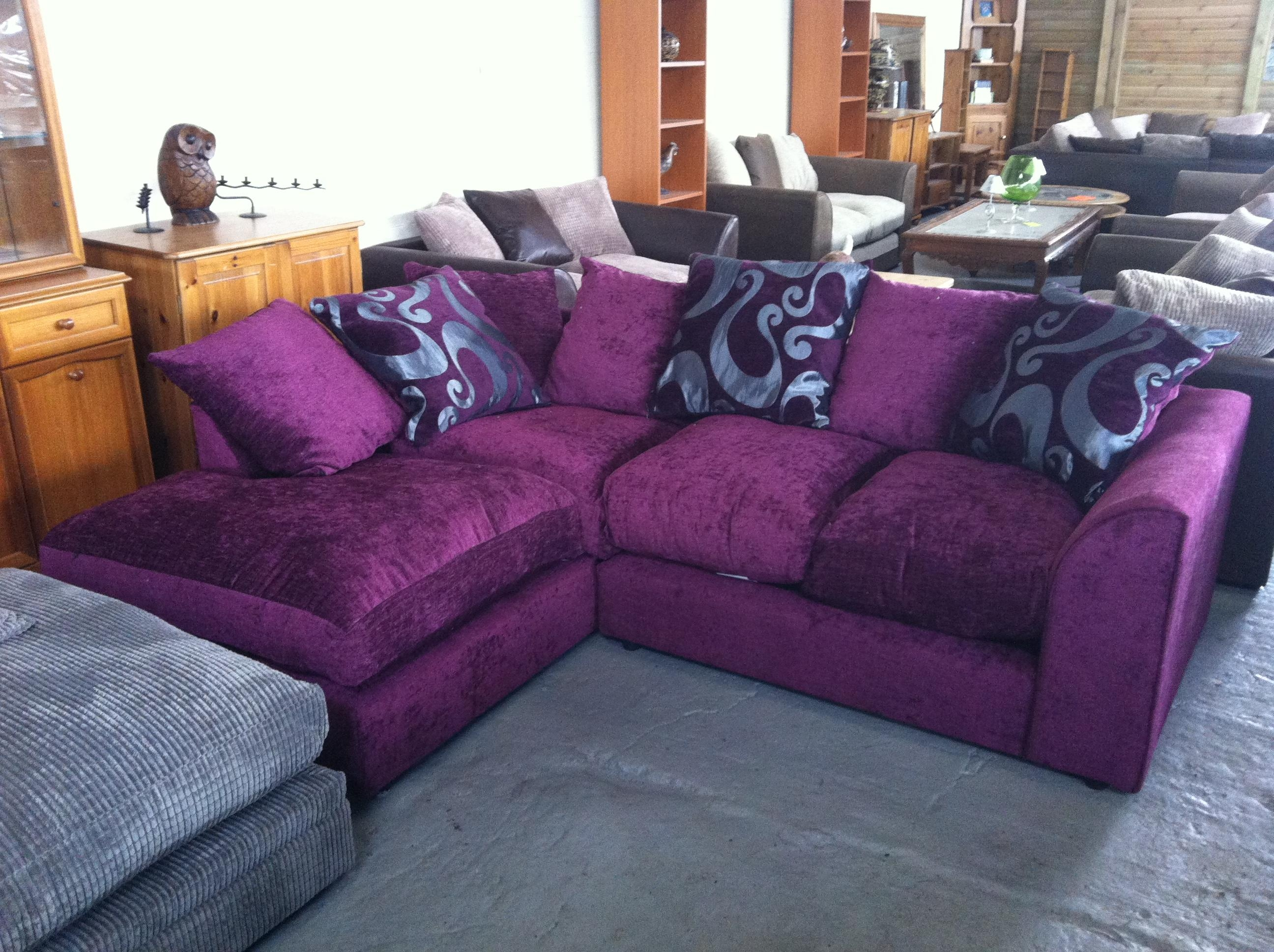 purple velvet upholstered sofa dallas cowboys sofas no way or yes please thesofa
