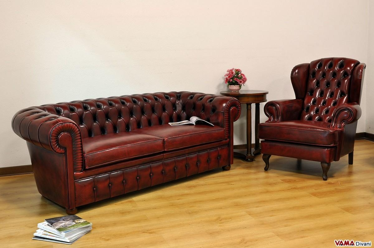 20 Top Red Leather Chesterfield Sofas  Sofa Ideas