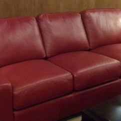 Red Leather Sofa Living Room Ideas Cheap Large Corner 20 Best Dark Couches