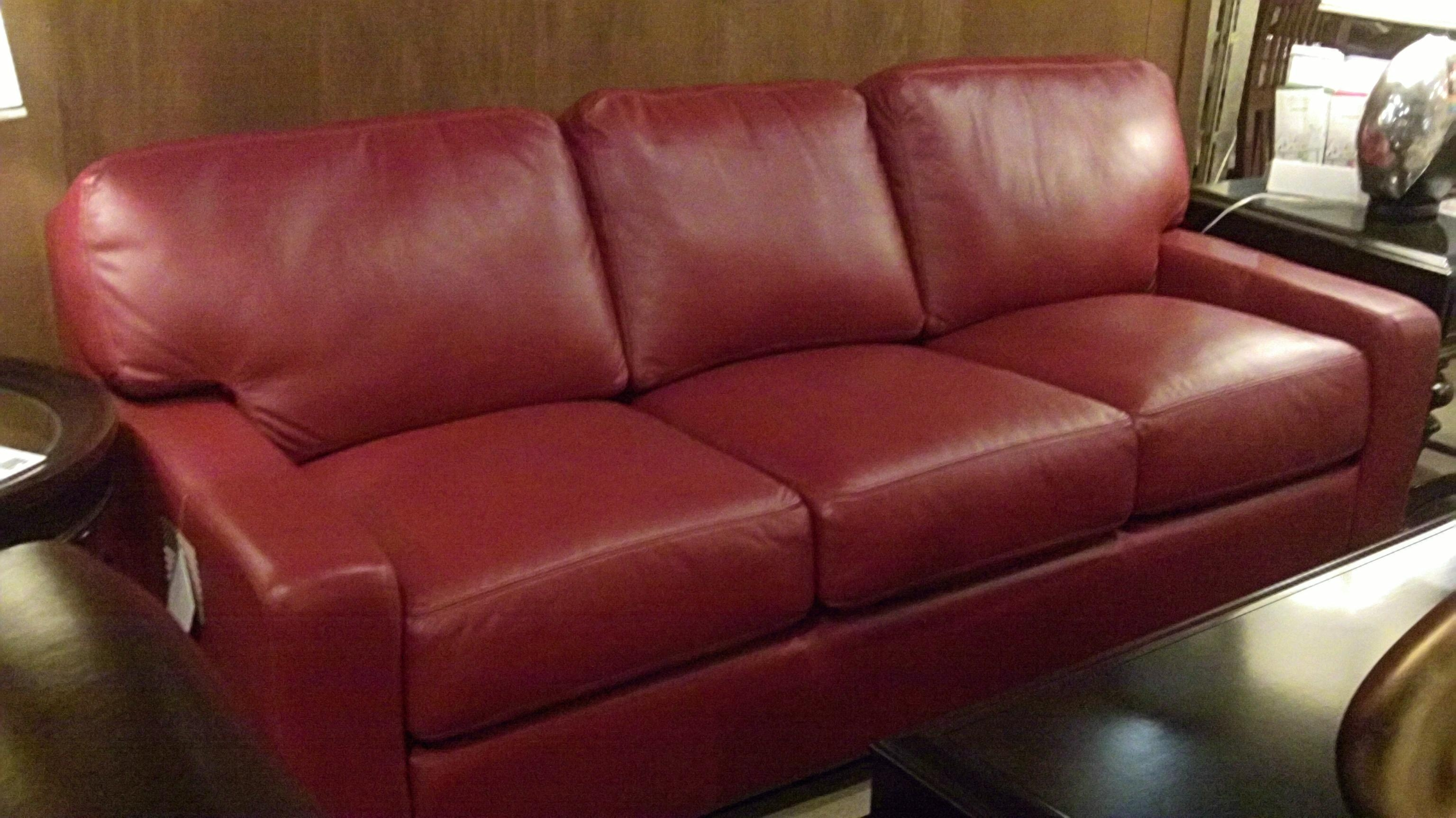 red leather chair and ottoman cover rentals fairfield ca 20 photos dark sofas sofa ideas