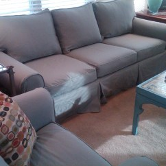 Pottery Barn Sofa Covers Replacement Best Living Room Sets 20 Collection Of Denim Slipcovers Ideas