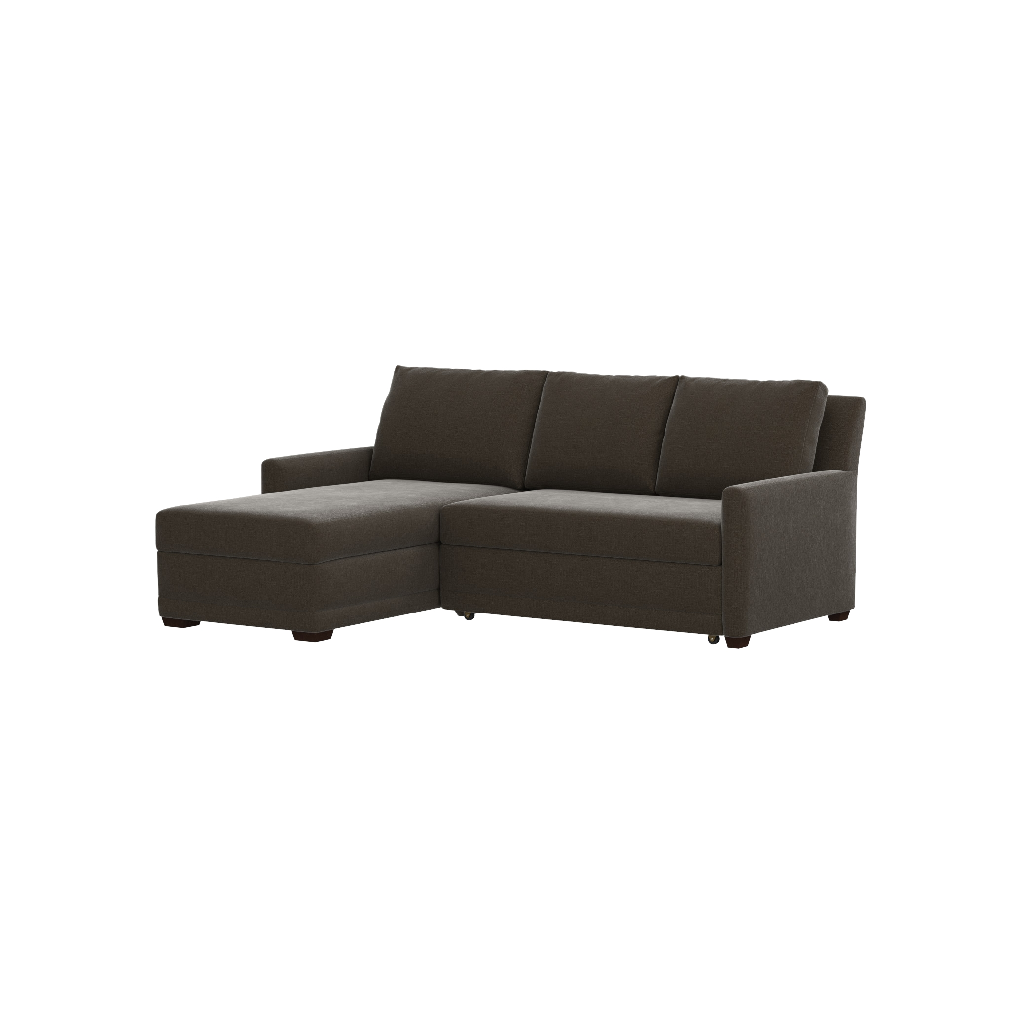 left arm sofa sectional 2pc chaise 20 collection of crate and barrel sleeper sofas ideas