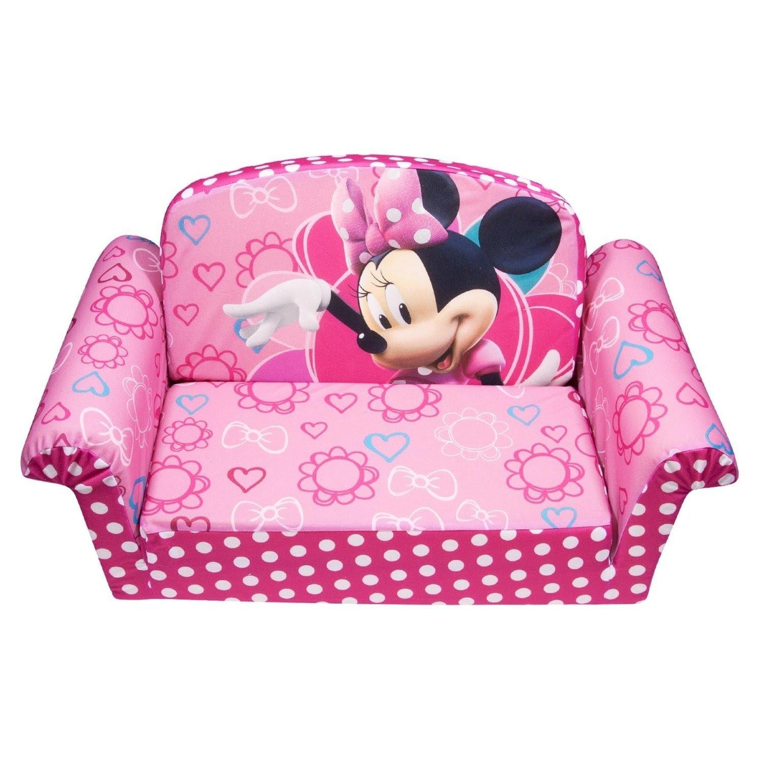 mickey mouse clubhouse flip open sofa with slumber bed large black fabric corner 2019 latest sofas ideas
