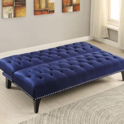 Navy Blue Velvet Sofa Canada How Much To Recover A In Leather 2019 Latest Tufted Sofas Ideas